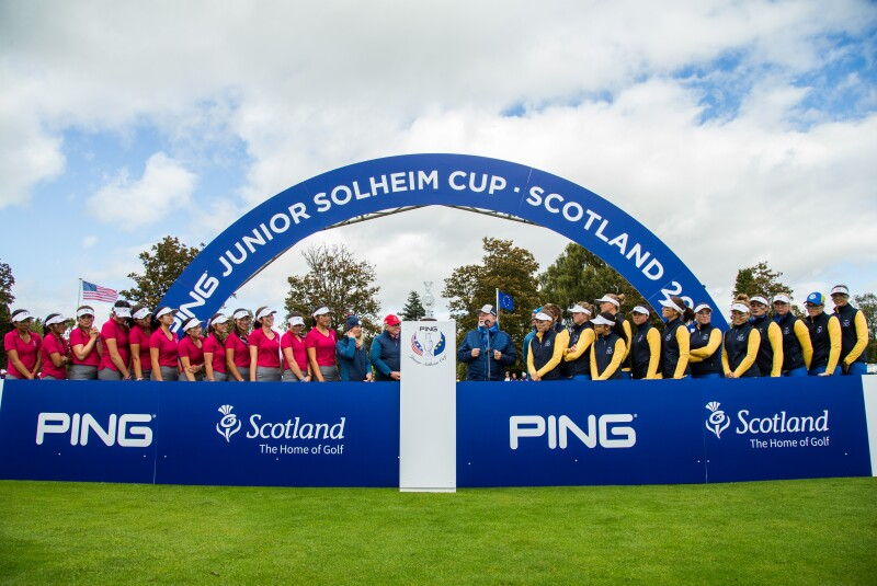 2019 PING Junior Solheim Cup presentation ceremony