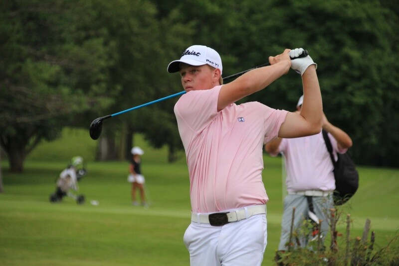 Cade Anderson first tee final round-2019-D.A. Points Junior Championship.JPG