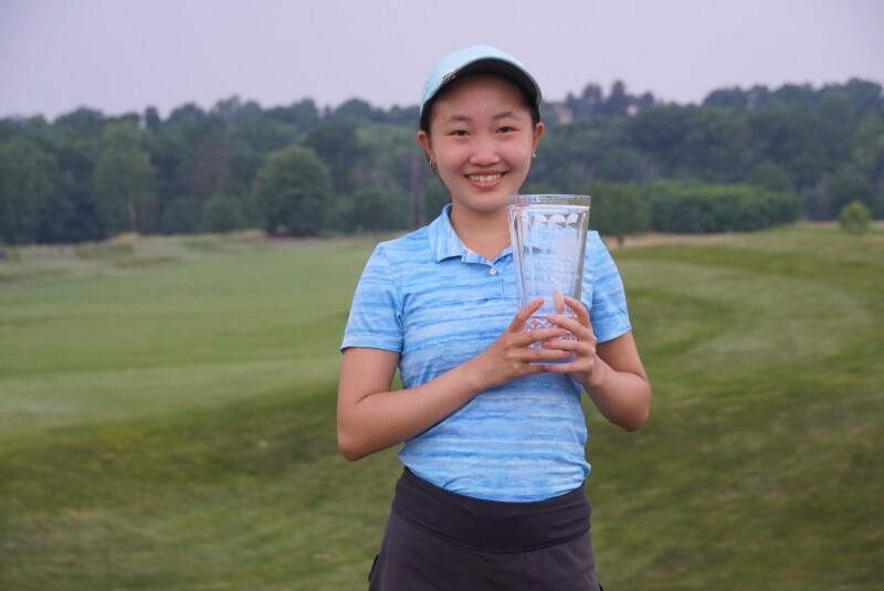 Kelly Chao second place trophy -2021- Junior Golf Hub Junior All Star.JPG