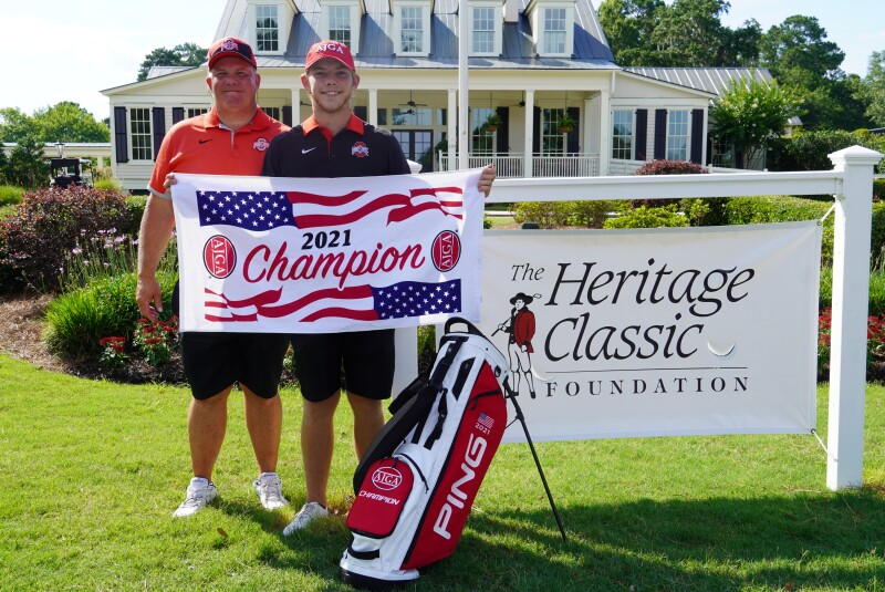 Tyler Sabo Champ Photo with dad-AJGA Junior at Oldfield-2021.png
