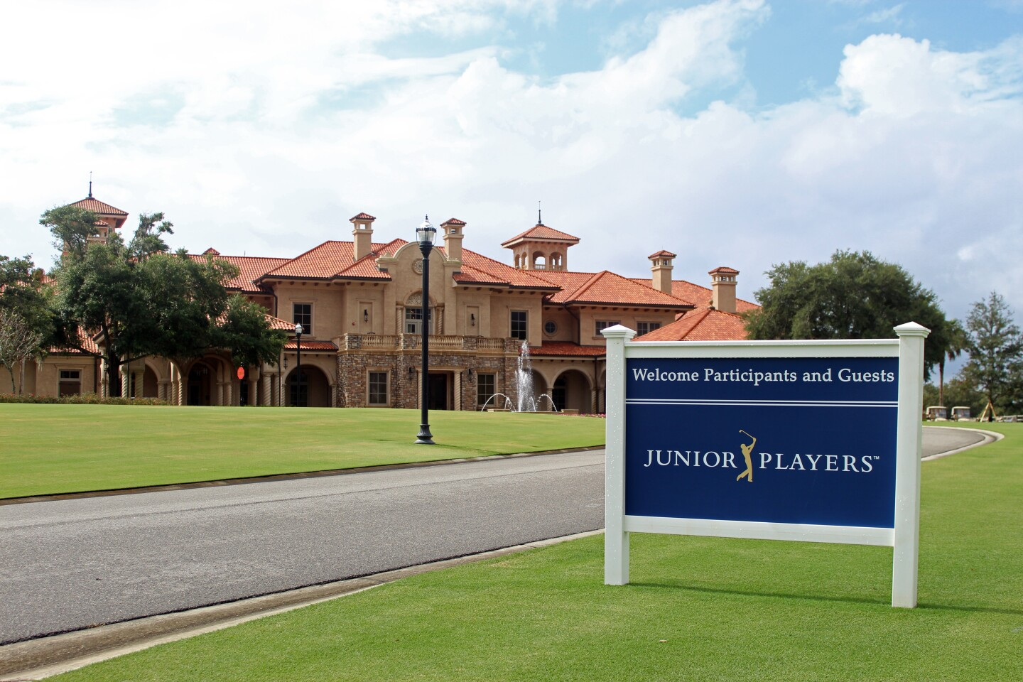 Welcome Sign with Clubhouse - 2019 - Junior PLAYERS Championship (3).JPG
