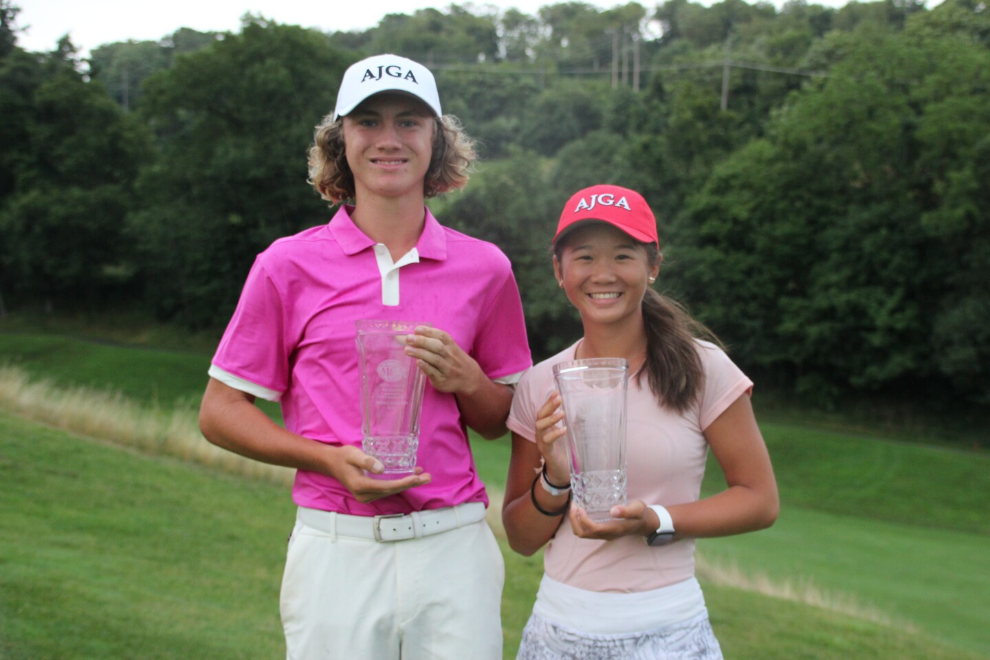 Parr, Li Champion Photo Outside Together - 2019 - AJGA Junior at Southpointe presented by DICK'S Sporting Goods.JPG
