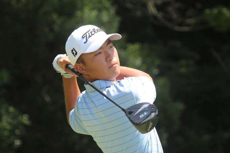 Bryan Lee Second Round Leader - 2020 - Justin Thomas Junior Championship.JPG