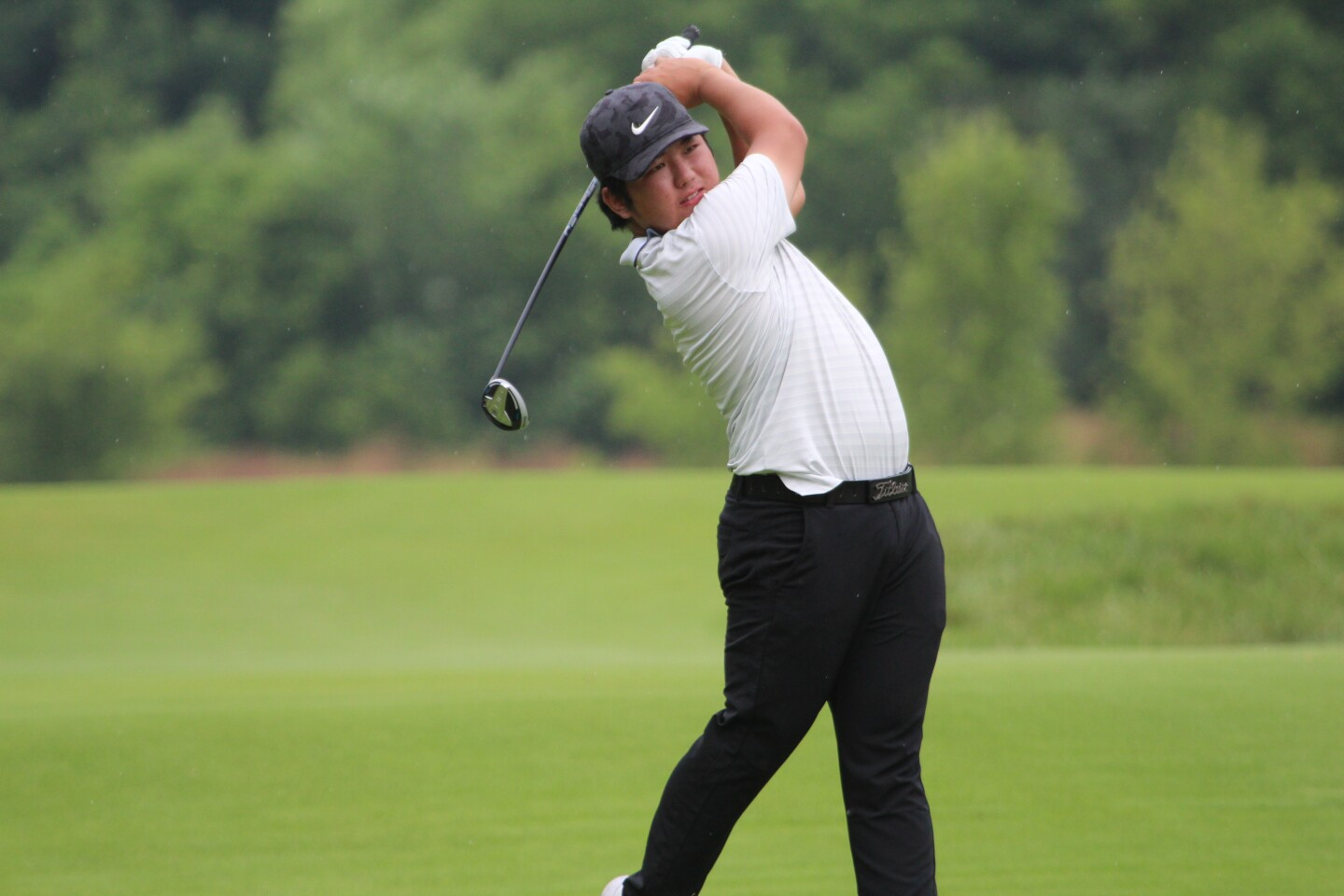 You Seong Choi Action - KPMG Stacy Lewis Junior All-Star Invitational - 2020.JPG
