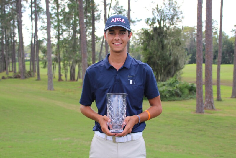 Miguel Leal Boys Division Champion - 2020 - Billy Horschel Junior Championship.JPG