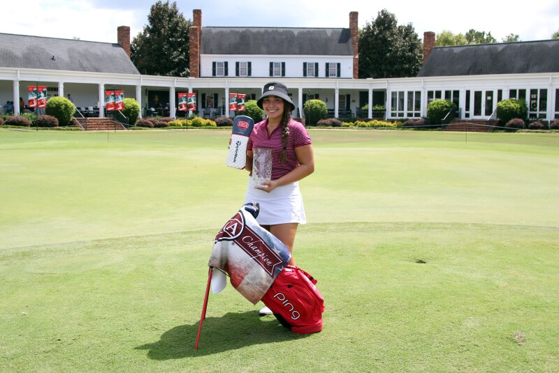 Izzy M. Pellot Low Final Round  and champion gifts - 2020 - Vaughn Taylor Championship 118.jpg