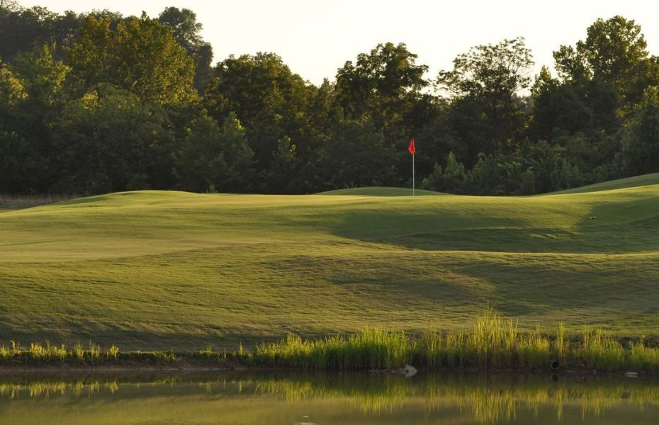 Green with red flag - 2020 - AJGA Junior open presented by Visit Sevierville / Tennessee Tourism