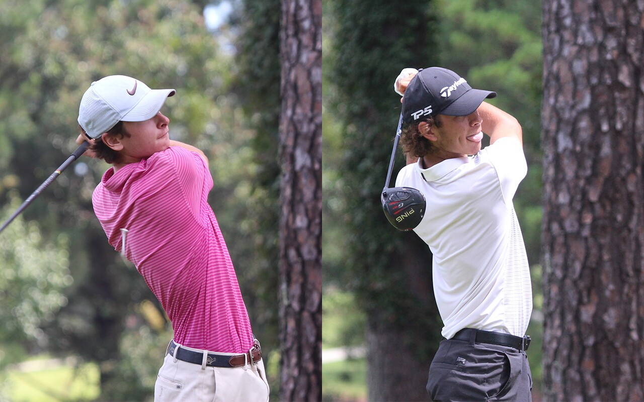 Joe Hemsley and Carson Enright Tied Division Leaders - 2020 - Visit Sanford Junior Open.jpg