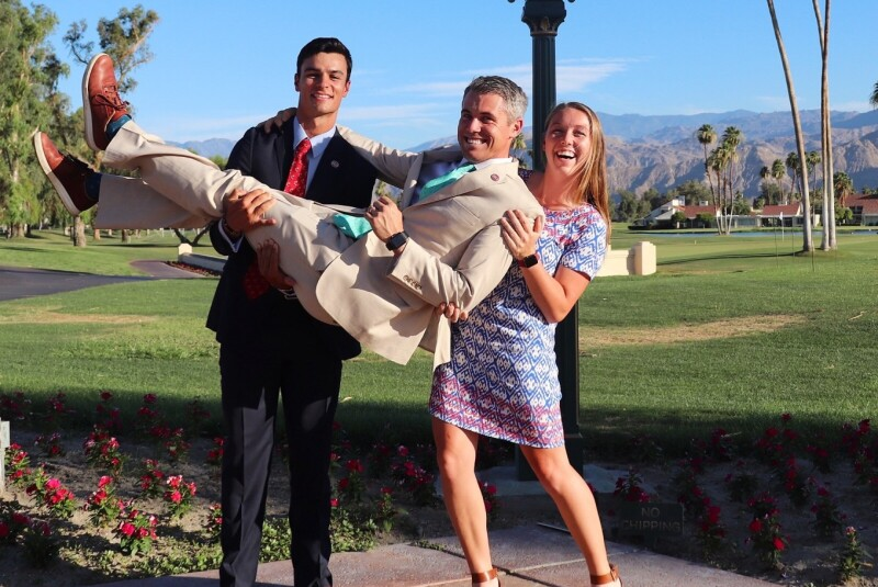 Katie Nord at Mission Hills with Trevor Deal and Nathan Nottrott.png