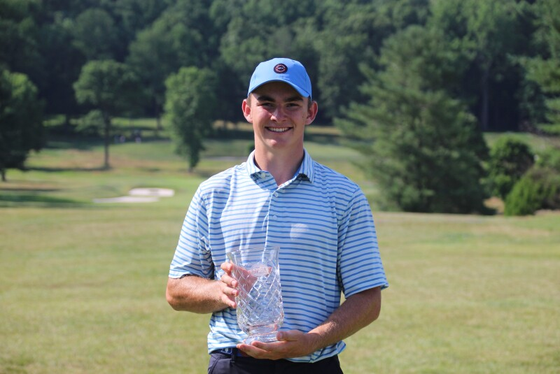 John Peters with Trophy and AJGA hat - 2020 - UHY Celadon Junior Championship hosted by Marina Alex.JPG